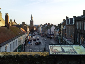Berwick-upon-Tweed, where Harold's story ends