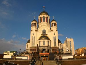 Church on the Blood, built on the site of the Ipatiev House, where the Romanov family was murdered.