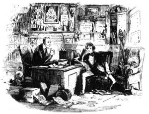Attorney and client, from the original illustrations